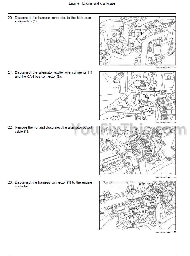 john deere skid steer wiring diagrams for 380