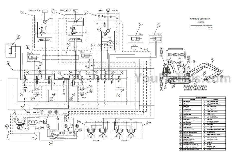 caterpillar 301 8 parts diagram