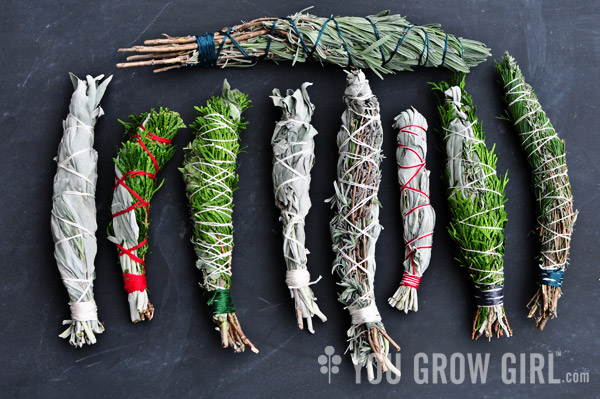 Make Your Own Homegrown Smudge Sticks