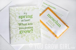 You Grow Girl Spring 2013 card