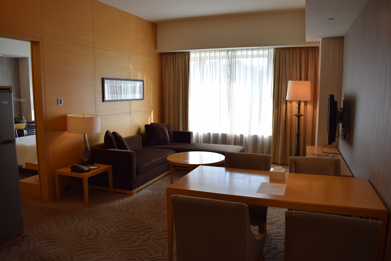 Möbel As Sha Review: Hyatt Regency Hong Kong Sha Tin - Suite - You Have Been Upgraded