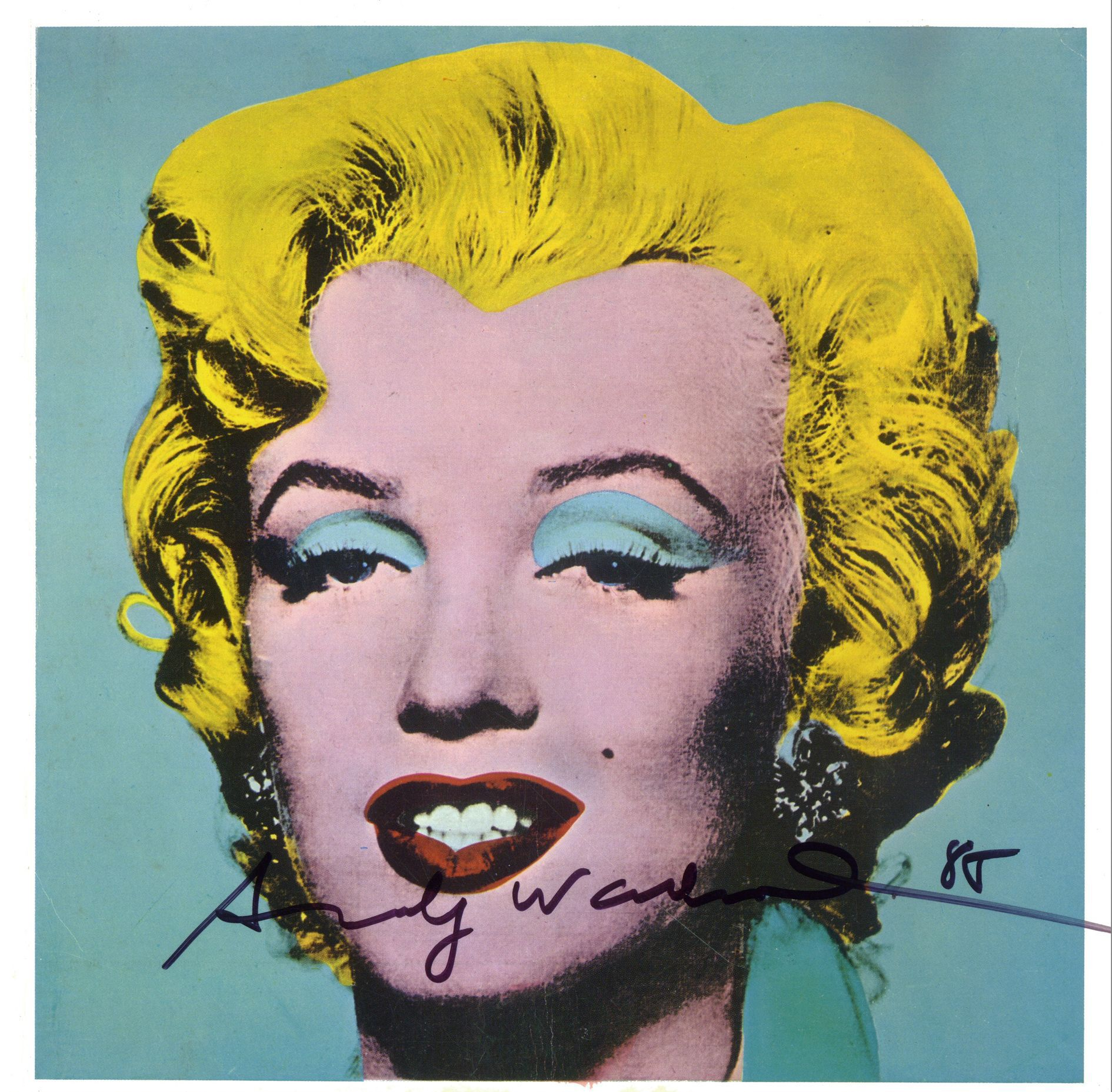 Marilyn Pop Art Andy Warhol Andy Warhol Bio Youloveart