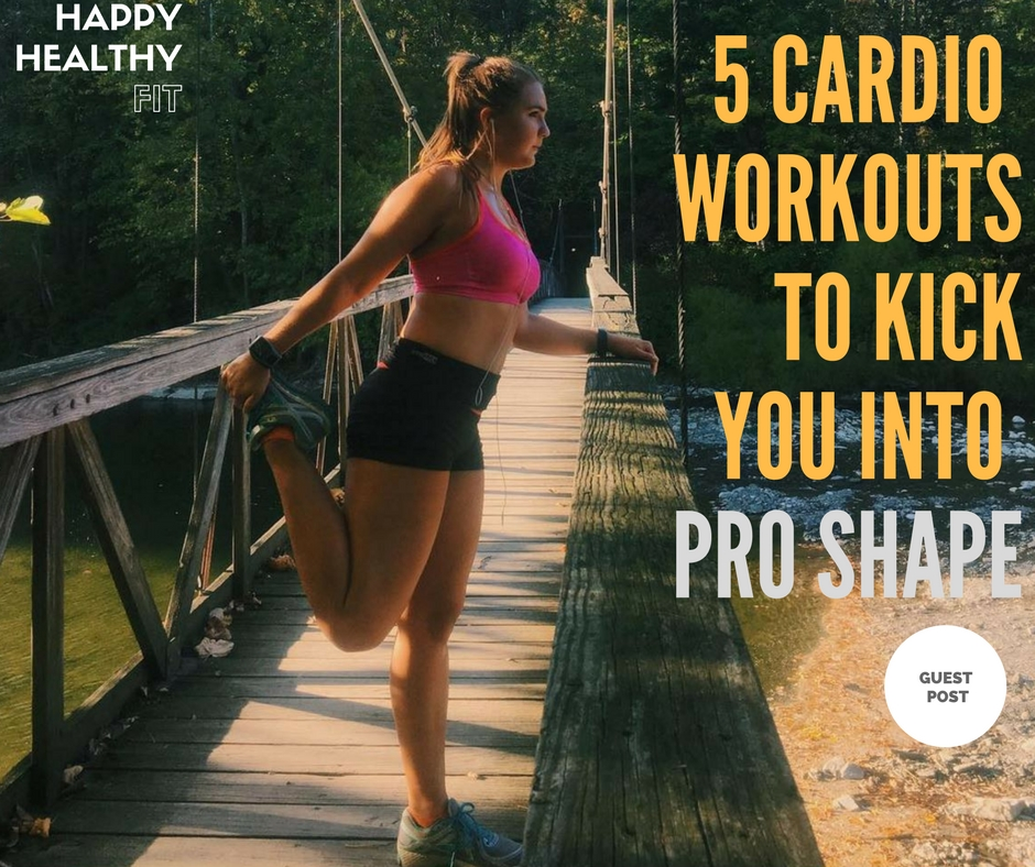 5 cardio workouts