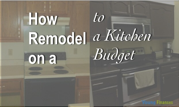How to Remodel a 20 Year Old Kitchen for Less Than $3,000