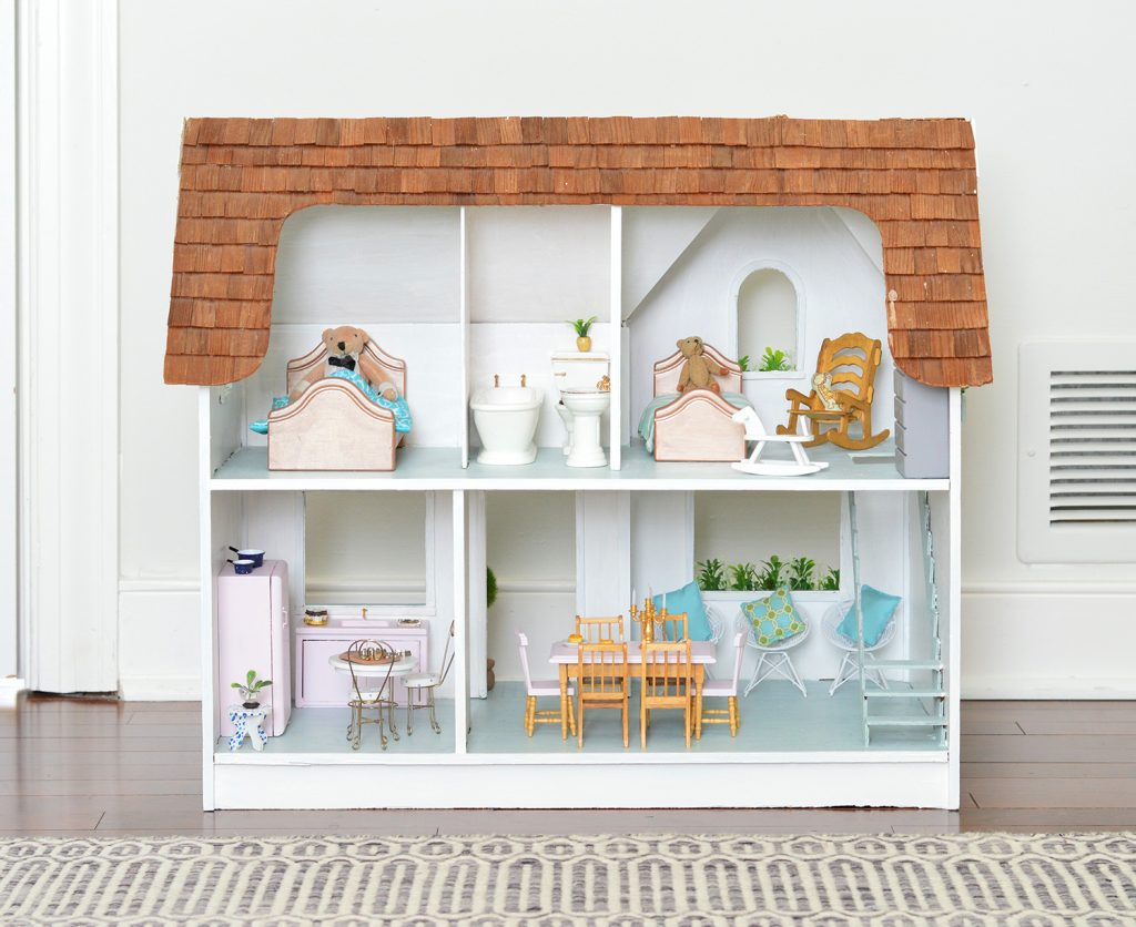 A Tiny House Makeover Ok It S A Dollhouse Young House Love