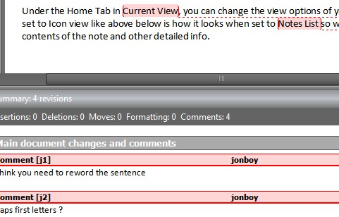 Add Comments to Documents in Word 2010