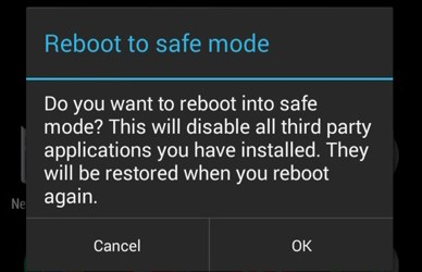 Restart your Android Phone in Safe Mode
