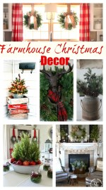 Farmhouse Decor Christmas Tree