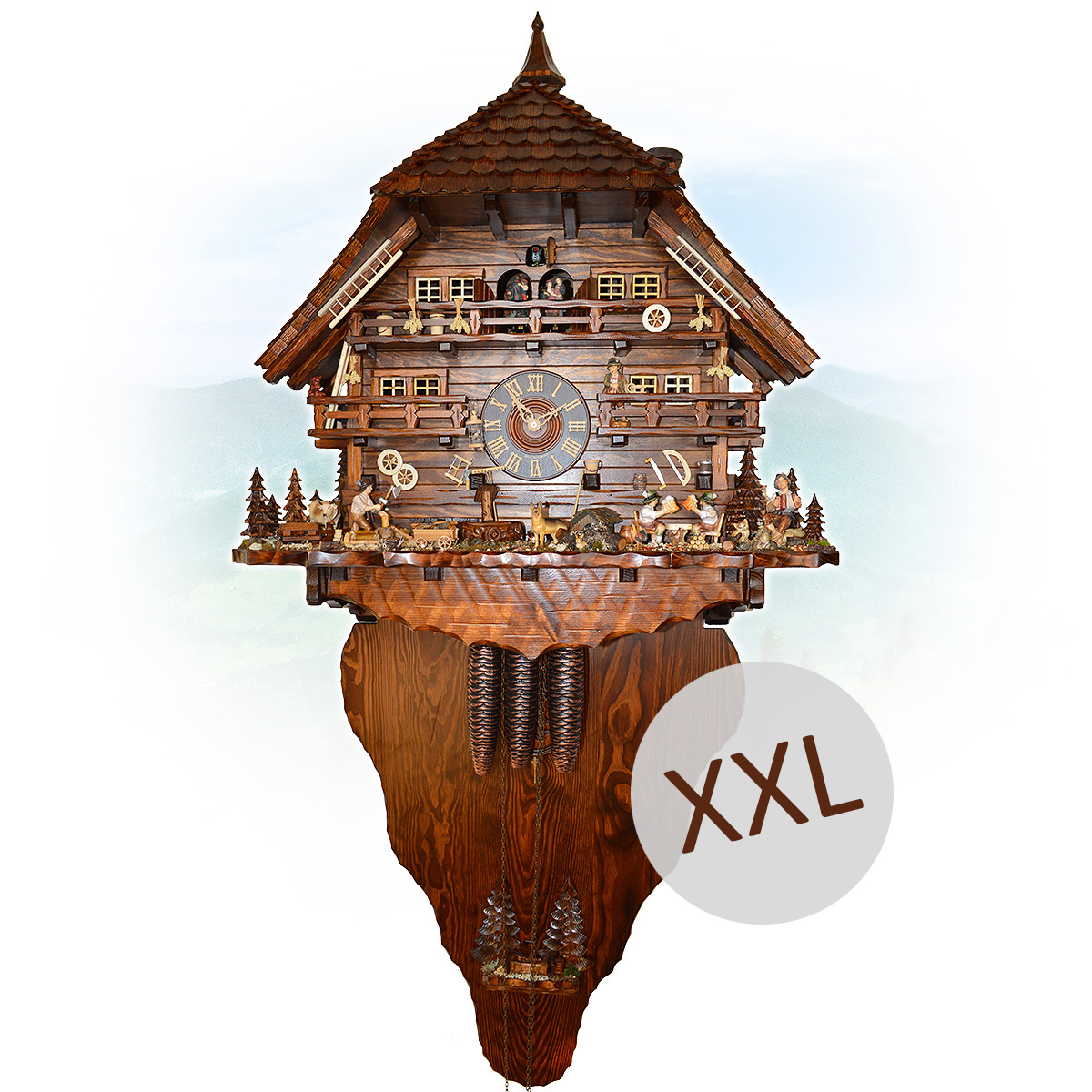 Affordable Cuckoo Clocks Reduced Original Cuckoo Clocks From The Black Forest