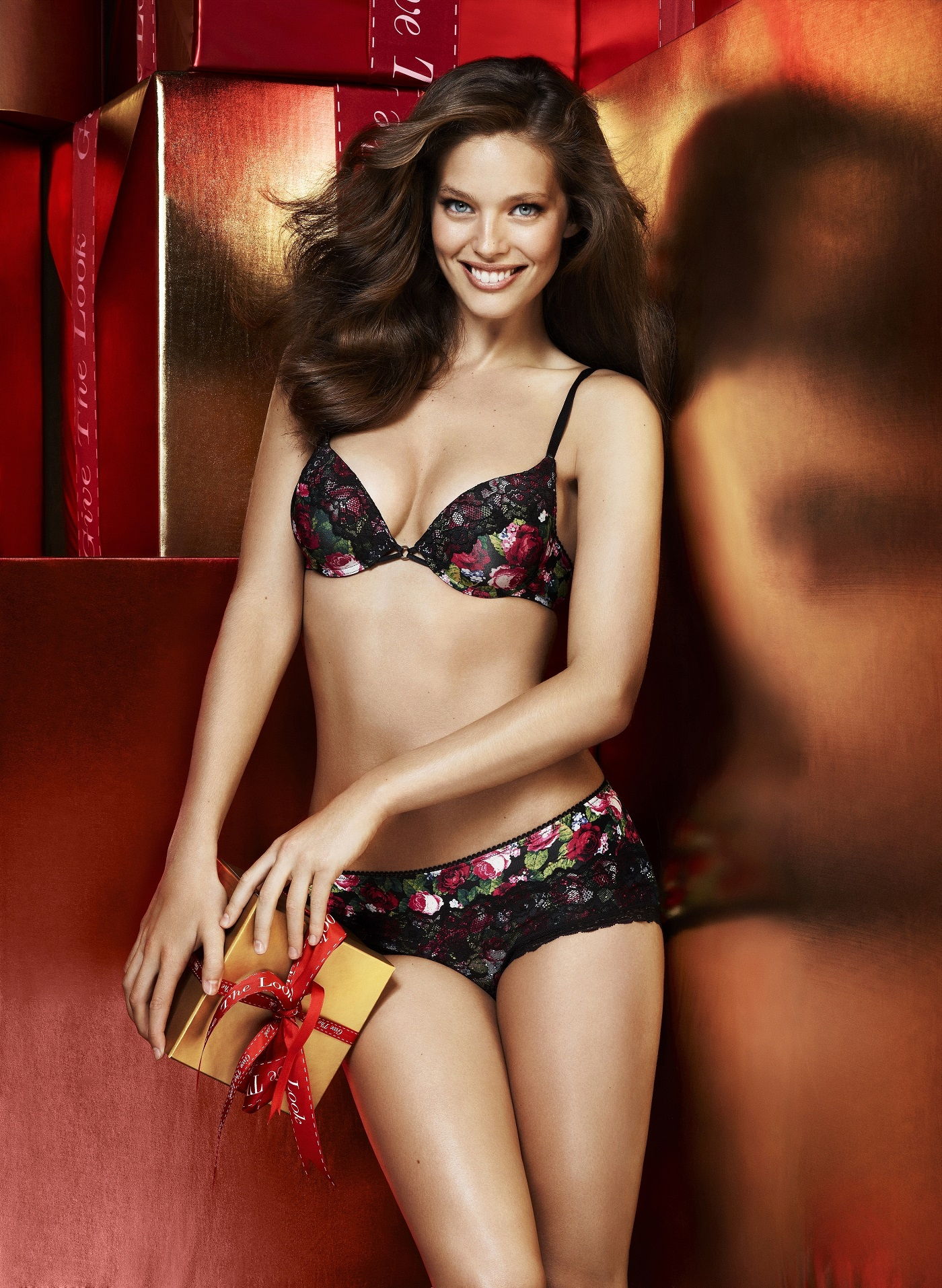 Live Girl Wallpaper Iphone Emily Didonato Very Sexy For Lindex Intimates Lingerie
