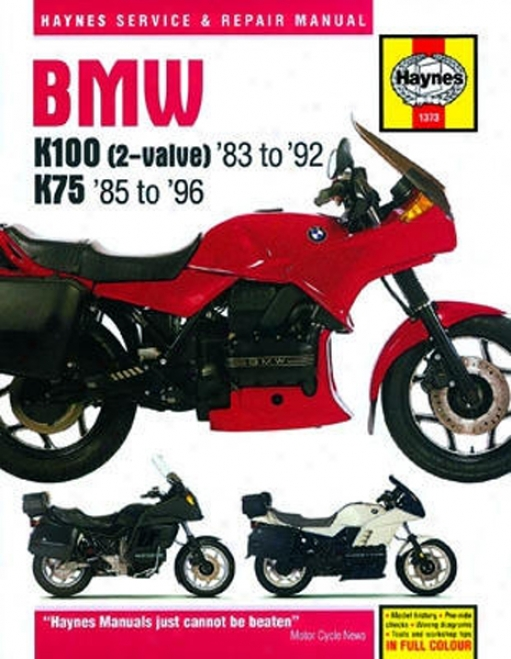 Bmw K100 Fuse Diagram
