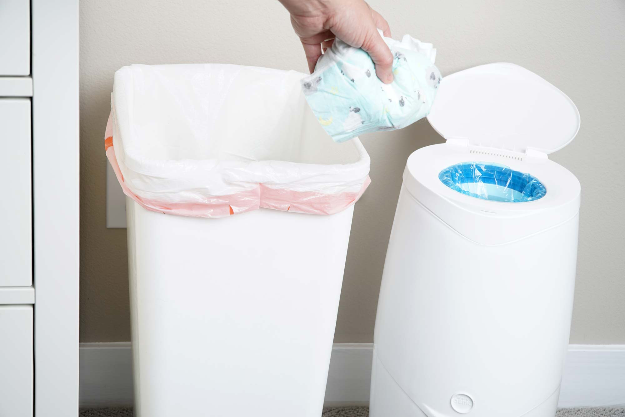 Laundry Trash Cans The Best Diaper Pail Of 2019 Your Best Digs