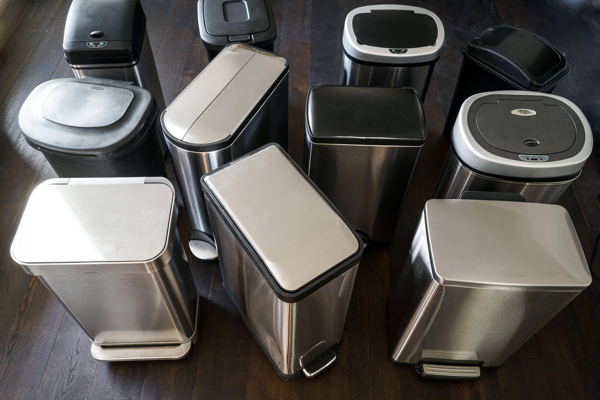 Metal Indoor Trash Can The Best Kitchen Trash Can Of 2019 Your Best Digs