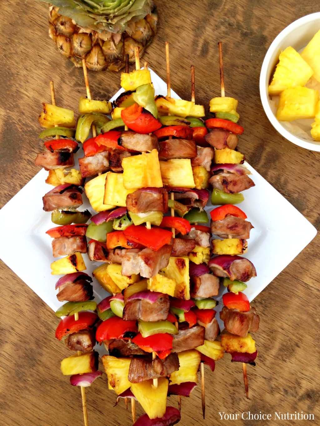 Canape Relax Joanna Pineapple Pork Kebabs Your Choice Nutrition