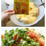 Chicken Enchilada Roll Ups