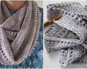 Calm Cowl Free Crochet Pattern Your Crochet
