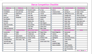 DanceCompetitionChecklistImage