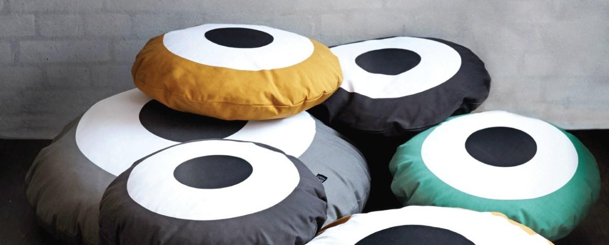 Kussen van Kai Copenhagen- in meerdere kleuren verkrijgbaar- 67,50 euro