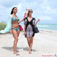 Rachel Starr & Alexis Fawx in Wives on Vacation