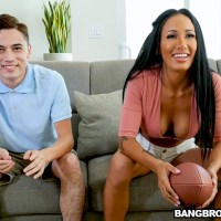 Amia Miley - Football Night Turns Into Fuck Night