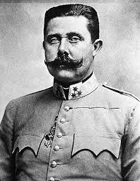 image of archduke franz ferdinand, assassinatewd at Sarajevo on June 28, 1914