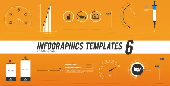 Video Infographics Templates 6