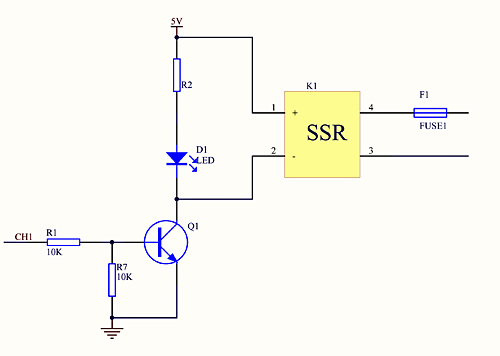 AC Solid State Relay 1-Channel