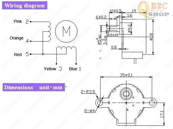 5V Stepper Motor