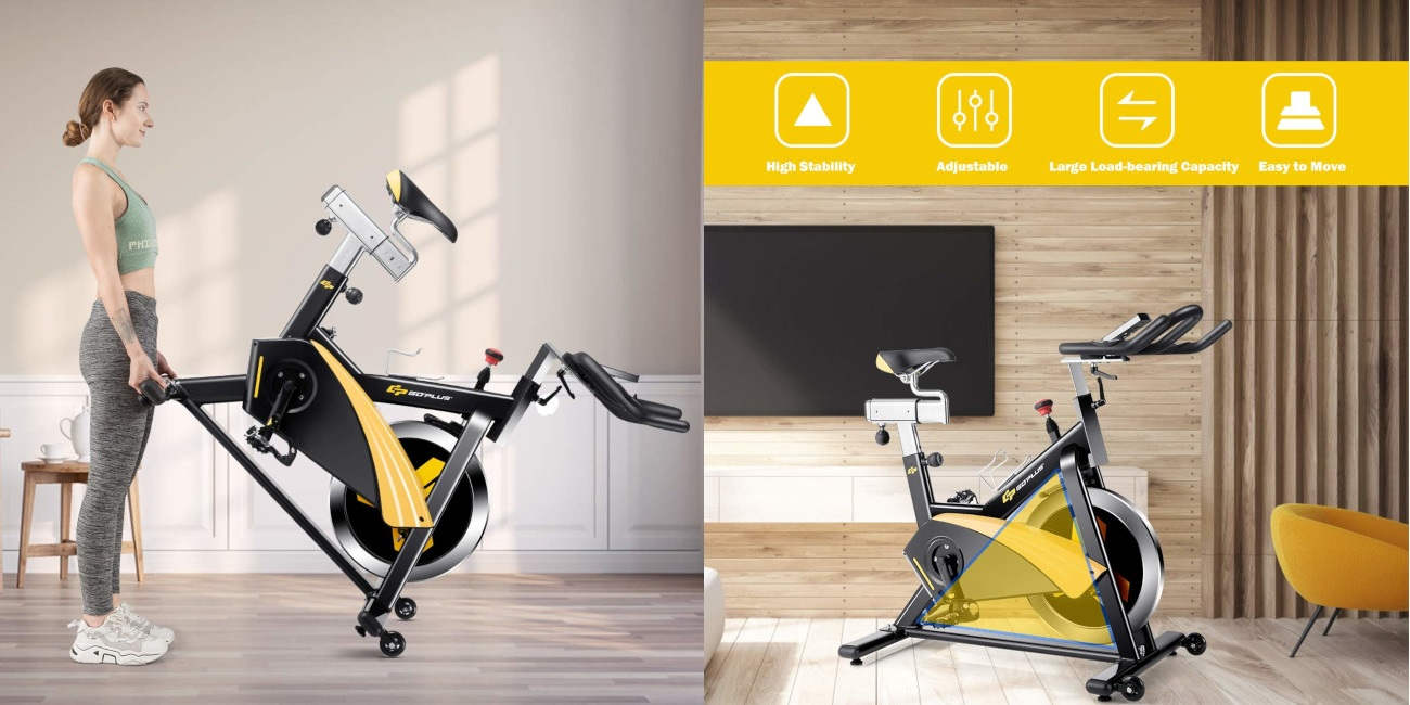 Goplus Magnetic Indoor Cycling Bike Review Pros Cons Price Specs