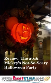 Review: Mickey's Not-So-Scary Halloween Party 2016 ...