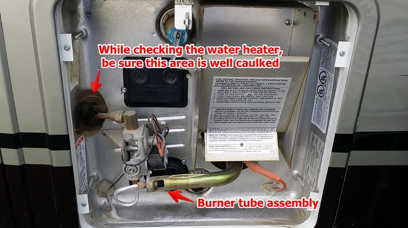 Rv Water Heater Troubleshooting Simple Maintenance Will Save You Money