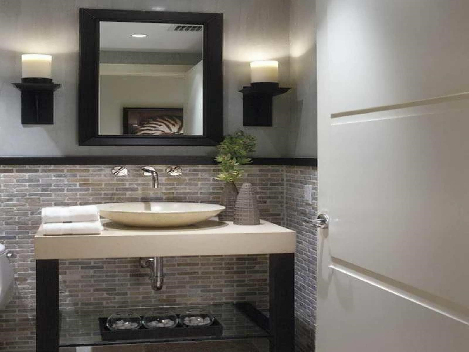 Modern Half Bathroom Ideas Bathroom Decoration Plan
