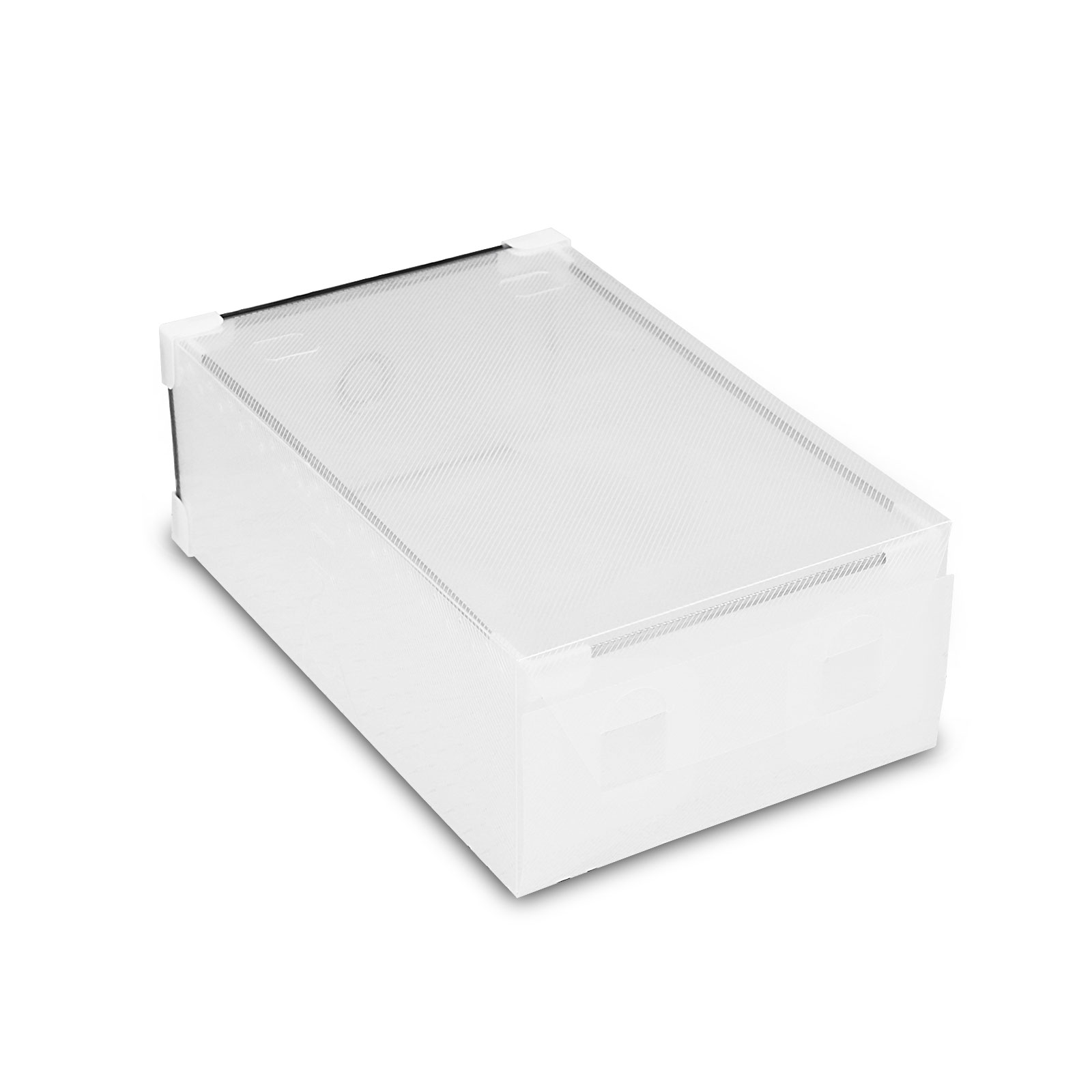 Shoe Box Australia 60 Pcs Diy Clear Shoe Storage Box Plastic Drawer Case