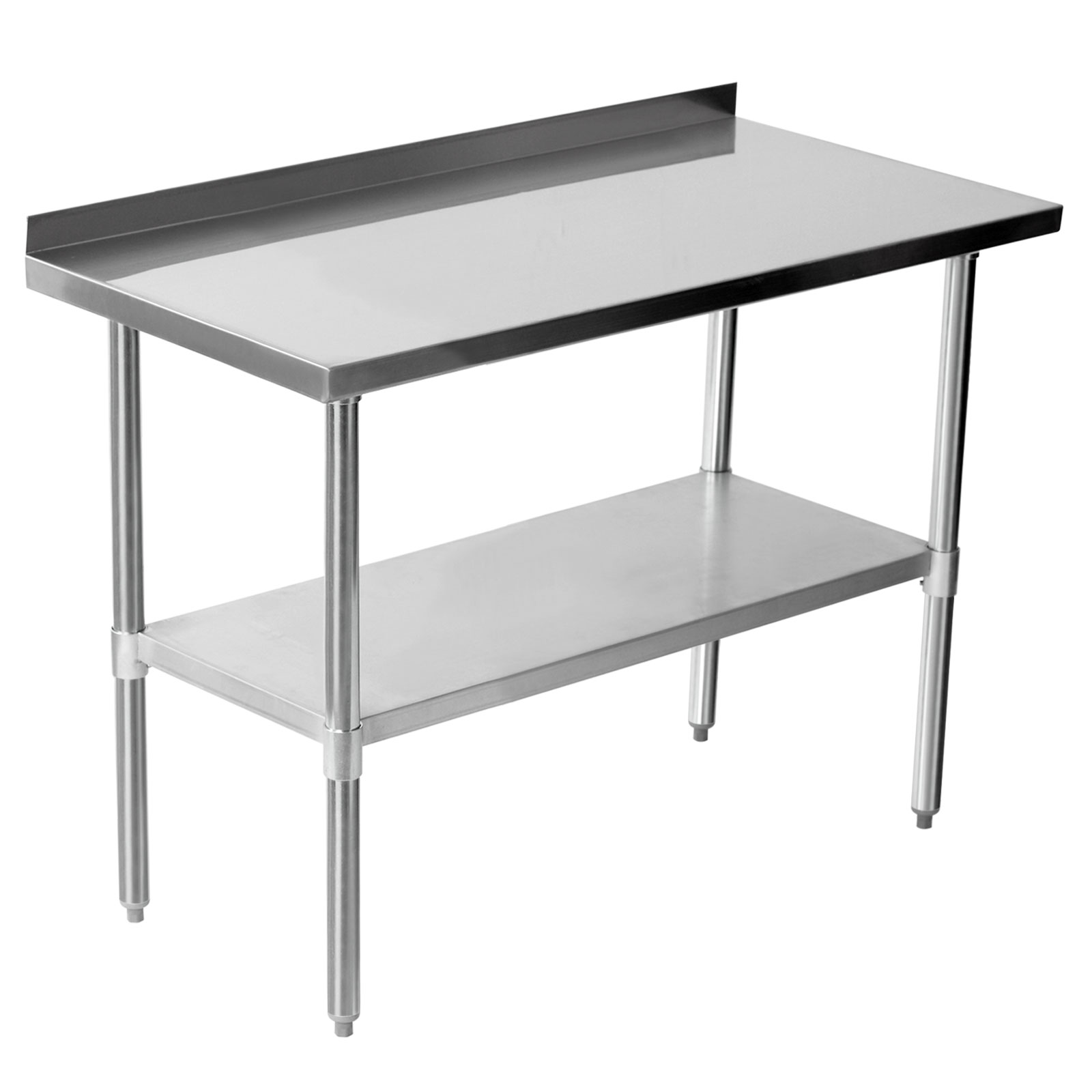 Industrial Work Table 25x40 Commercial Stainless Steel Work Bench Kitchen Catering
