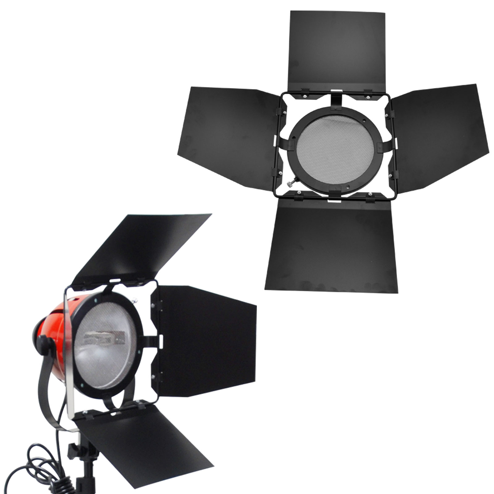 Eclairage Photo Studio Kit Projecteur Mandarine Readhead 3x800w Lumière Photo