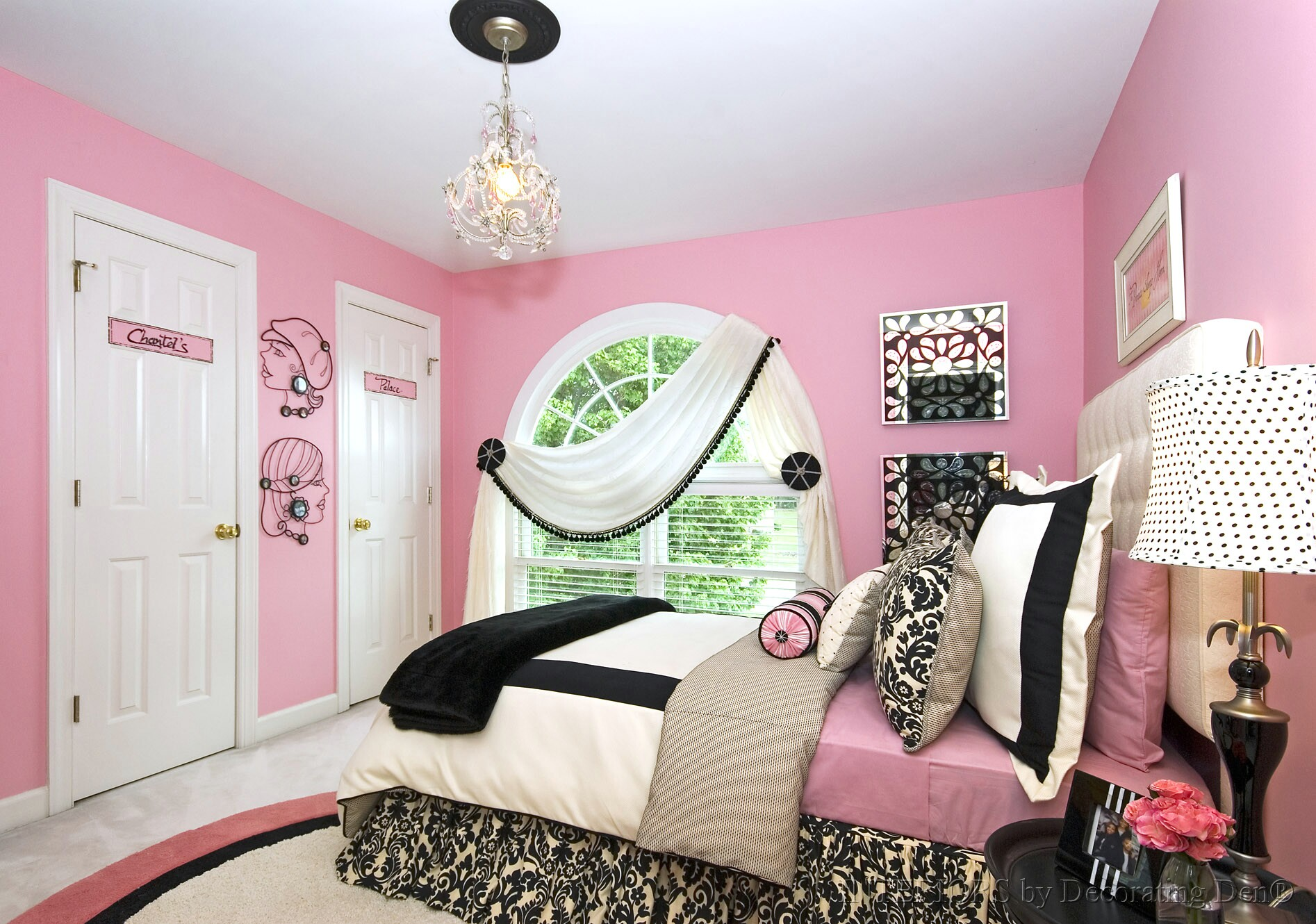 Art For Teenage Rooms A Bedroom Makeover For A Teen Girls Room Devine