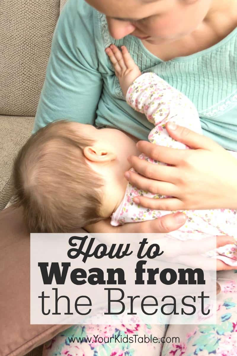 Weaning A Baby Off Formula Stopping Breastfeeding The Complete Guide Your Kid S Table