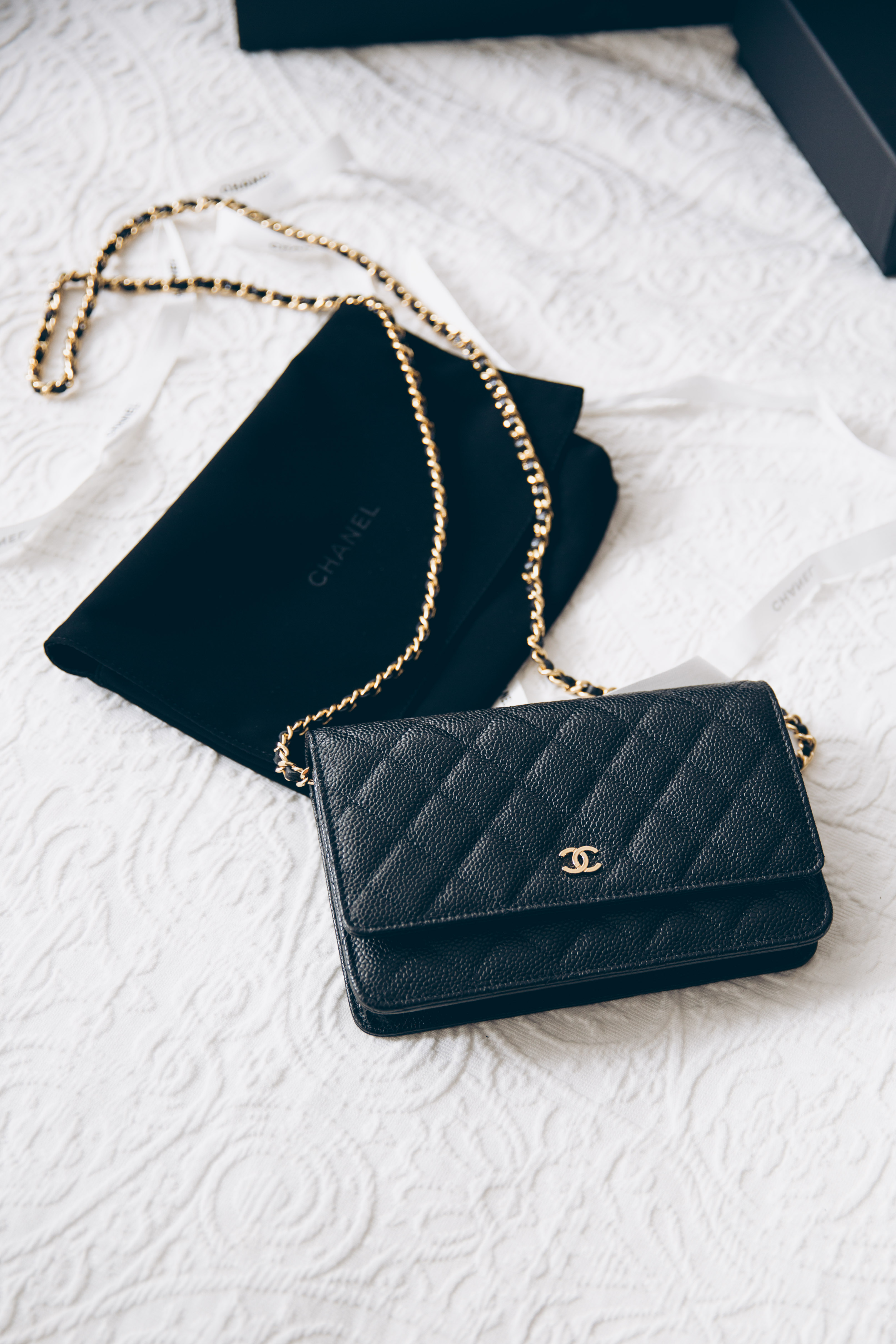 Mini Vs Woc Review Chanel Wallet On Chain Woc You Rock My Life