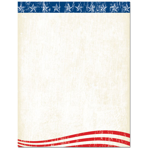 Faded Glory American Flag Paper - Your Paper Stop