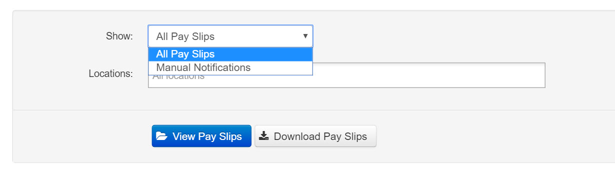 Pay Slips - Sending Pay Slip Notifications \u2013 Payroll Support (AU) - pay slip download