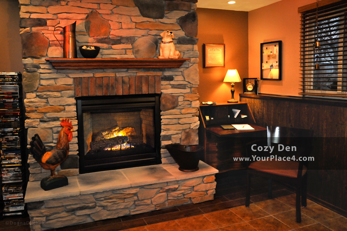 Brick Fireplace Makeover Fireplace Makeovers At The Place