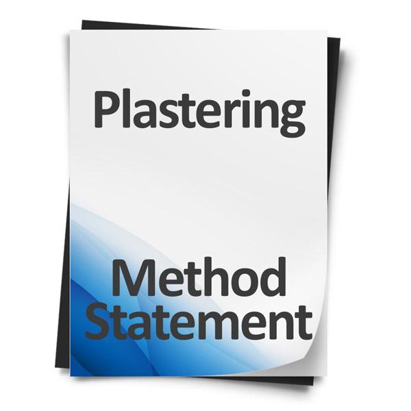 Download Plastering Method Statement Template Document