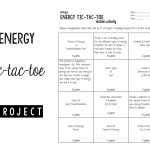 Energy Tic-Tac-Toe Project