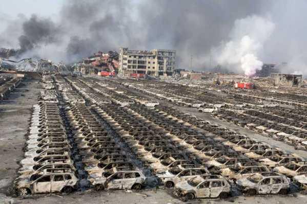 China port blast