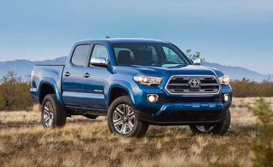Toyota Tacoma 2016 Features