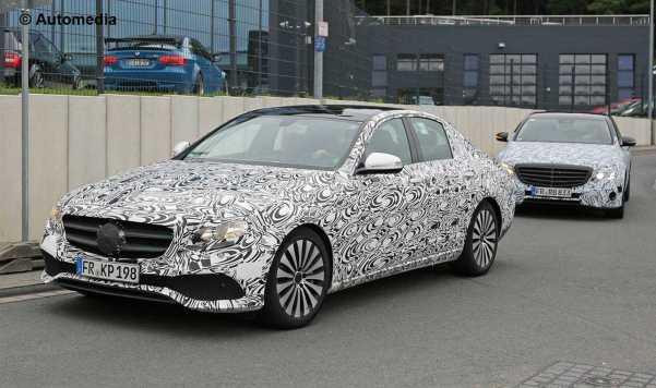 2017 Mercedes-Benz E-Class Spy Photos