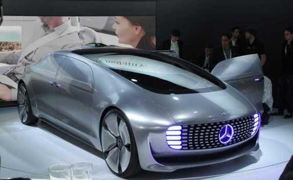 Mercedes Autonomous Car