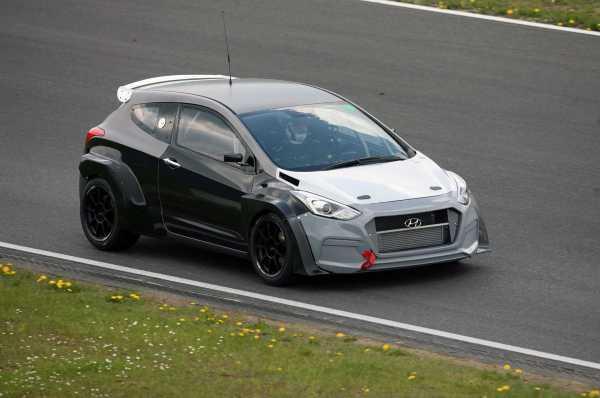 Hyundai i30N development car