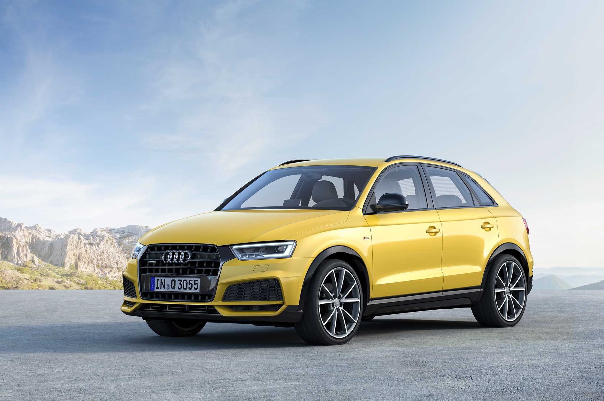 Audi Q3 facelifted again, adds S line competition trim