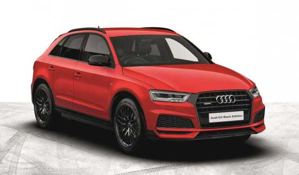 audi unveils special black edition for a3 tt s6 and s7 variants. Black Bedroom Furniture Sets. Home Design Ideas